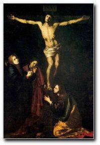 J. de Ribera. El Calvario, 1625. Colegiata de Osuna