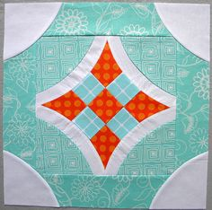 """""""Curve it up"""" 9-Patch ~ Block #5 