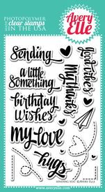 Sending You Clear Stamps Averyelle