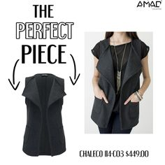 #‎theperfectpiece‬ ‪#chaleco #gris #bolsas #vest #grey ‪#‎winter‬ ‪#‎collection‬ ‪#‎ooth‬ ‪#‎outfit‬ http://evpo.st/1IDIr1m