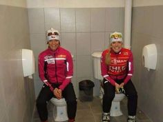 Horrible & Funny Conditions of Hotels at Sochi Olympics - 'teamwork' at the Destination Toilet in Sochi