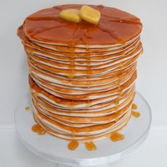 Happy Fathers Day!!! Check these 16 Incredible Cakes Made to Look Like Pancakes