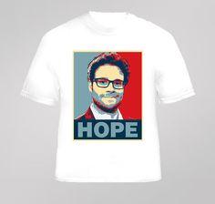 Seth Rogen Hope Comedian Funny Man T Shirt