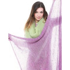 Square Shawl by Adele Cutten | Vogue Knitting