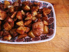 Mexican potatoes... yummy and easy!