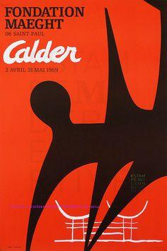 Calder 1969 Fondation Maeght via Flickr.