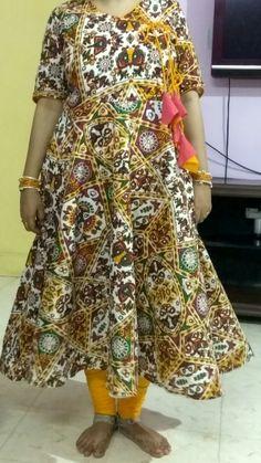 angrakha style kurti