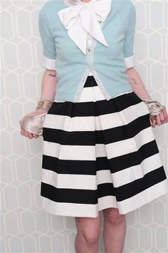 My go-to skirt this spring...by the lovely Anne Cramer.