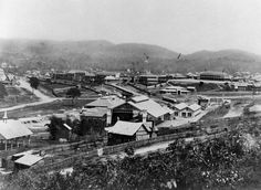 1876 Brisbane Roma St Railway Station