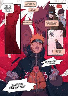 Role reversal / cyberpunk AU by SYG, translated by me with permission. Sasunaru, Naruko Uzumaki, Naruto Comic, Naruto Cute, Naruto Funny, Naruto Shippuden Sasuke, Naruto Kakashi, Anime Naruto, Manga Anime