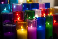 So many churches have changed to electronic candles. For those of us who are old school, this is such a loss. The beauty of a candle, lit with the fire of prayer and intention, has such power and meaning.