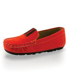 Look at this #zulilyfind! Orange Summertime Loafer by Twinkie #zulilyfinds