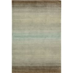 @Overstock - Give your home a casual vibe with this hand-tufted cosmopolitan rug. Because of its natural beige, green, and gray tones and subtle striped pattern, this rug can beautify your floors without clashing with your furniture, artwork, or decorations. http://www.overstock.com/Home-Garden/Hand-tufted-Natural-Cosmopolitan-Rug-73-x-93/6201397/product.html?CID=214117 $369.99