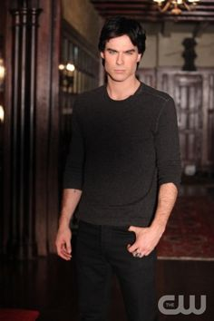 """""""The Ties That Bind""""--Ian Somerhalder as Damon on THE VAMPIRE DIARIES on The CW. Photo: Quantrell D. Colbert/The CW ©2011 THE CW NETWORK. ALL RIGHT RESERVED."""