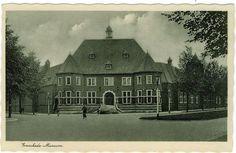 Enschede (1933) Lasondersingel met het Rijksmuseum Twenthe.