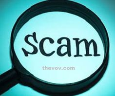 About Scam and Scammers. News on Fraud. News for Public Alert! News in Public Interest.