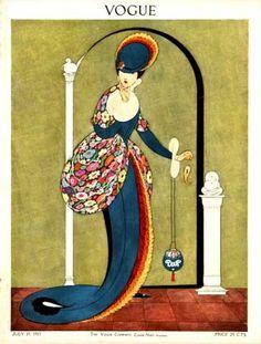 Vintage Vogue Cover.