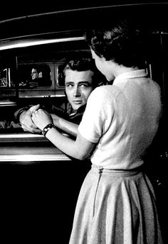 James Dean and Natalie Wood ~ Rebel Without a Cause, 1955