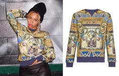 Beyoncé Wearing Criminal Damage Illuminati Sweatshirt $80