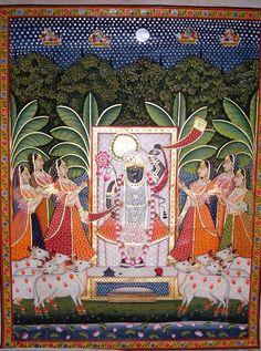 SAG :: indian art, oil paintings on canvas, handmade paintings, art collectibles, miniature paintings, indian paintings