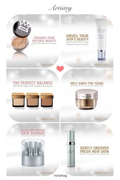 #Artistry #makeup #skincare #beauty #products