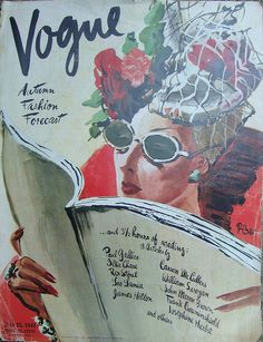 Vogue Cover, July 15, 1941