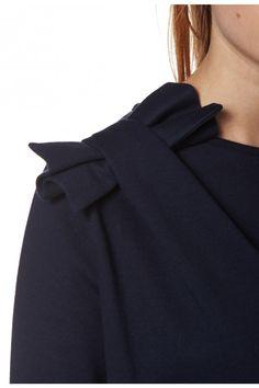 Sweatshirt TOBOGAN MARINE - Sweat Femme - Claudie Pierlot