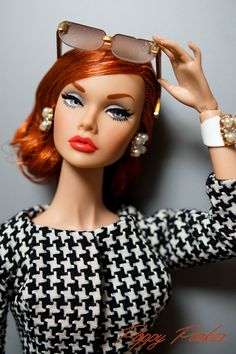 Mood Changers redhead | Poppy Parker Fashion Royalty Dolls, Fashion Dolls, Girl Fashion, Poppy Doll, Poppy Parker, Bratz Doll, Ken Doll, Vintage Barbie Dolls, Barbie Friends