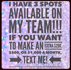 Looking for stay at moms/dads who could use some extra income. I'll guide you step by step. Join my growing team! www.theskinnyminnie.myitworks.com