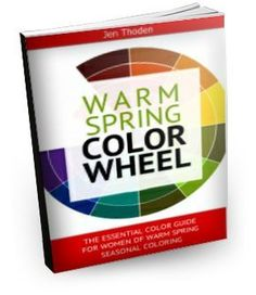 """How to Wear Your Warm Spring Colors... So That You Look and Feel Beautiful Everyday"" Watch the video below to learn *exactly* how to use your warm spring color wheel and color guide to create unique and amazing outfits... while shopping or staring blankly at your closet... Click through to learn more..."