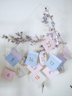 quick and easy DIY advent calendar