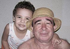 Meu amigo Antonio com meu filho Martin.
