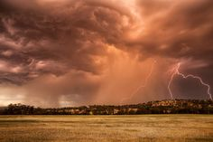 Hi guys we don't get storms like the U.S here in Perth and I wish we did... but here is a photo to the start of Western Australia Storm Season. this was taken from YORK ,got to love storm Sunsets. .