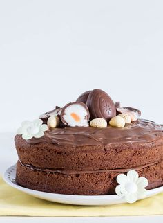 Nutella Creme Egg Cake Recipe | Recipes-from-a-pantry