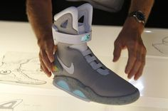 ea37331b791 Back to the Future Sneakers - Nike Air Max Shoes! Marty Mcfly
