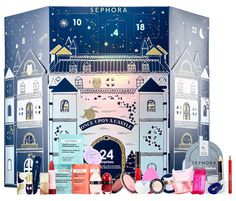 Sephora Once Upon A Castle Advent Calendar for Holiday 2018 – Musings of a Muse Makeup Christmas Calendar, Makeup Advent Calendar, Adult Advent Calendar, Best Beauty Advent Calendar, Holiday Calendar, Christmas Makeup, Christmas Fun, Christmas Presents, Sephora