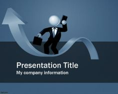 Business Ethics Template for PowerPoint presentations with blue color