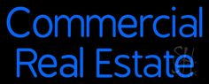 Commercial Real Estate 1 Neon Sign