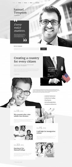 Politics website inspirations at your coffee break? Browse for more Moto CMS #templates! // Regular price: $139 //  #Politics #Moto #CMS #HTML