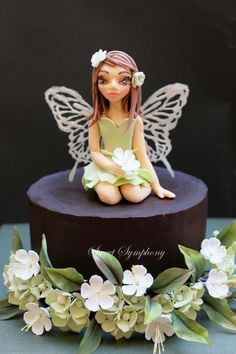 Fairy Cake - Cake by SweetSymphony