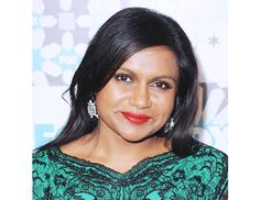 @byrdiebeauty - Mindy Kaling  Kaling's poppy lip is a slightly shinier, warmer version of Kruger's, courtesy of makeup artist Katey Denno.