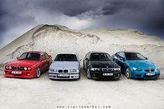 BMW ///M3 :: E30, E36, E46, E92