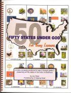 the 50 states under God.... christian geography!!!