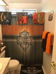 Incroyable Harley Davidson Bathroom