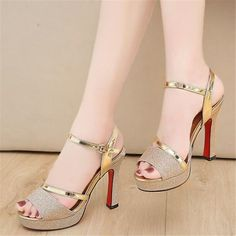 Winter Shoes For Women, Womens Summer Shoes, Womens High Heels, Beige Shoes, Silver Shoes, Wedding High Heels, Fashion Sandals, High Heels Stilettos, Women's Sandals