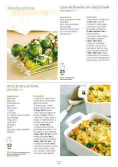 Rice Recipes, Healthy Recipes, Healthy Food, Queijo Gouda, Good Food, Yummy Food, Bento, Risotto, Mashed Potatoes