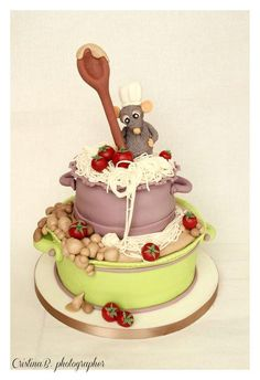 Le chef  Ratatouille - Cake by La Belle Aurore