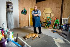 Jeffrey Gibson Mixes American Indian Forms and the Abstract - The New York Times