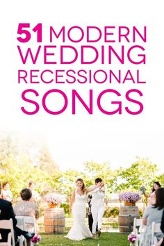 Wedding Recessional Songs To Help You Dance Into The Sunset with regard to Exit Wedding Songs - Party Supplies Ideas Wedding Ceremony Exit Songs, Wedding Recessional Songs, Wedding Exits, Wedding Playlist, Wedding Walk Out Songs, Wedding Ideas, Modern Wedding Songs, Wedding Blog, Wedding Reception