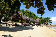 Our welcoming beach by the Eden Garden.  La plage vous accueille en lisière de L'Eden Garden.  Photo by G.Planchenault Archipelago, Outdoor Furniture, Outdoor Decor, Hammock, Patio, Beautiful, Luxury, Beach